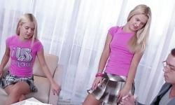 rus kız kardeşler, konulu grup hard pornosu