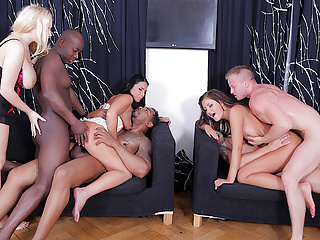 dp group sex party, angel wicky hot sex